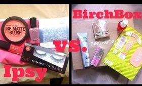 Ipsy vs. Birchbox February 2014