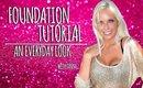 Everyday Foundation Tutorial | Contour | Highlight | Blush |Tanya Feifel-Rhodes