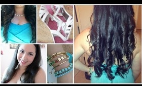Prom Perfect Hair, Makeup & Outfit! ♡