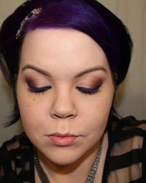 My Version Of Adele's makeup in Teen Vogue May 2011