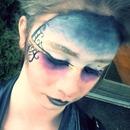 gradient dark makeup