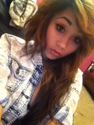 tousled hair look :)