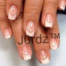 V French nails