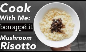 Quarantine Cooking Show: Bon Appetit Mushroom Risotto by Carla Lalli Music | Olivia Frescura