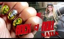 Avril Lavigne Rock n Roll official music video inspired NAILS | Tutorial