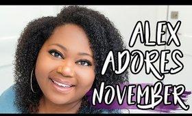 Alex Adores November 2019