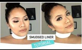 Smudged Liner Makeup Talk Through Tutorial   makeupbyritz