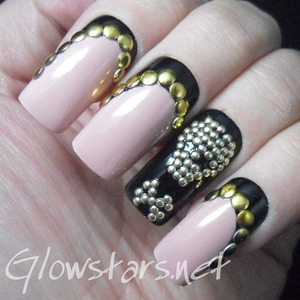 For more nail art, pics of this mani and products and method used visit http://Glowstars.net