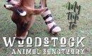 Woodstock Animal Sanctuary VLOG! | Ashley Morganic