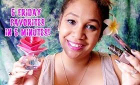 5 Friday Favorites in 5 Minutes 08.09.13 | Honey Kahoohanohano