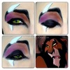 scar disney makeup look