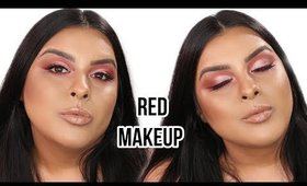 Red Eyeshadow Tutorial | Im Extra AF