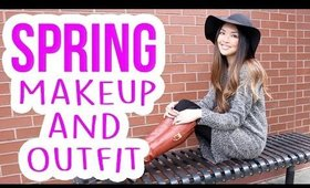 Spring Makeup Tutorial & Outfit Ideas!