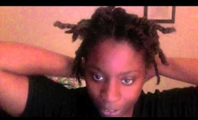 one year natural 4c hair type