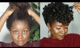 Coconut Restore Review + Tutorial + Giveaway on Tapered Type 4 Natural Hair