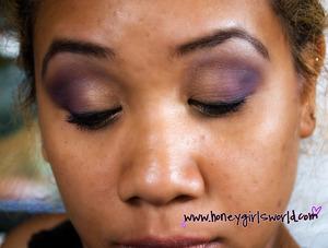 Purple & Gold using Motives.