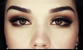 Wearable Green Smokey eyes