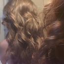 hair curled