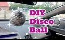 DIY Disco Ball Ornament : Party Decor