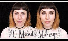 20 Minute Full Face Makeup Tutorial for School, Work etc. | LetzMakeup