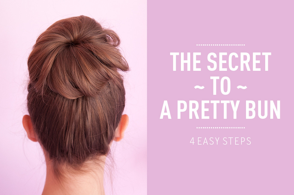 How To Do A Sock Bun - The Secret To A Pretty Bun