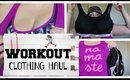 WEIGH-IN 23 | WORKOUT CLOTHING HAUL