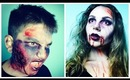 Zombification: The Walking Dead Inspired! Feat. My Little Brother!