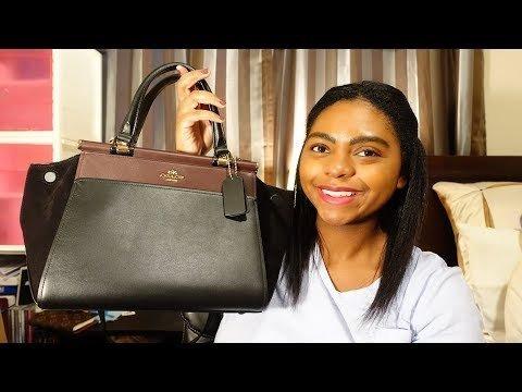 c3c25c956 Unboxing: Coach x Selena Gomez Grace Bag | Nicole M. Video | Beautylish