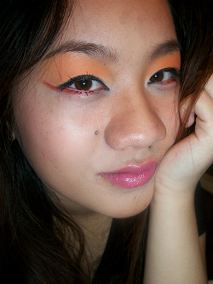 I have a tutorial on this look, if you are interested please check it out.