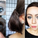 Pin Up Inspired Holiday Make Up