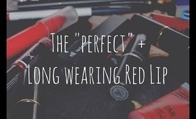 "Creating The ""Perfect"" Red Lip!"