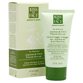 Kiss My Face So Refined - (Jojoba & Mint Facial Scrub)
