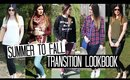Summer to Fall Transition Outfits Lookbook