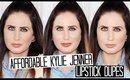 Kylie Jenner MAC Lipstick Dupes - Affordable & Drugstore!