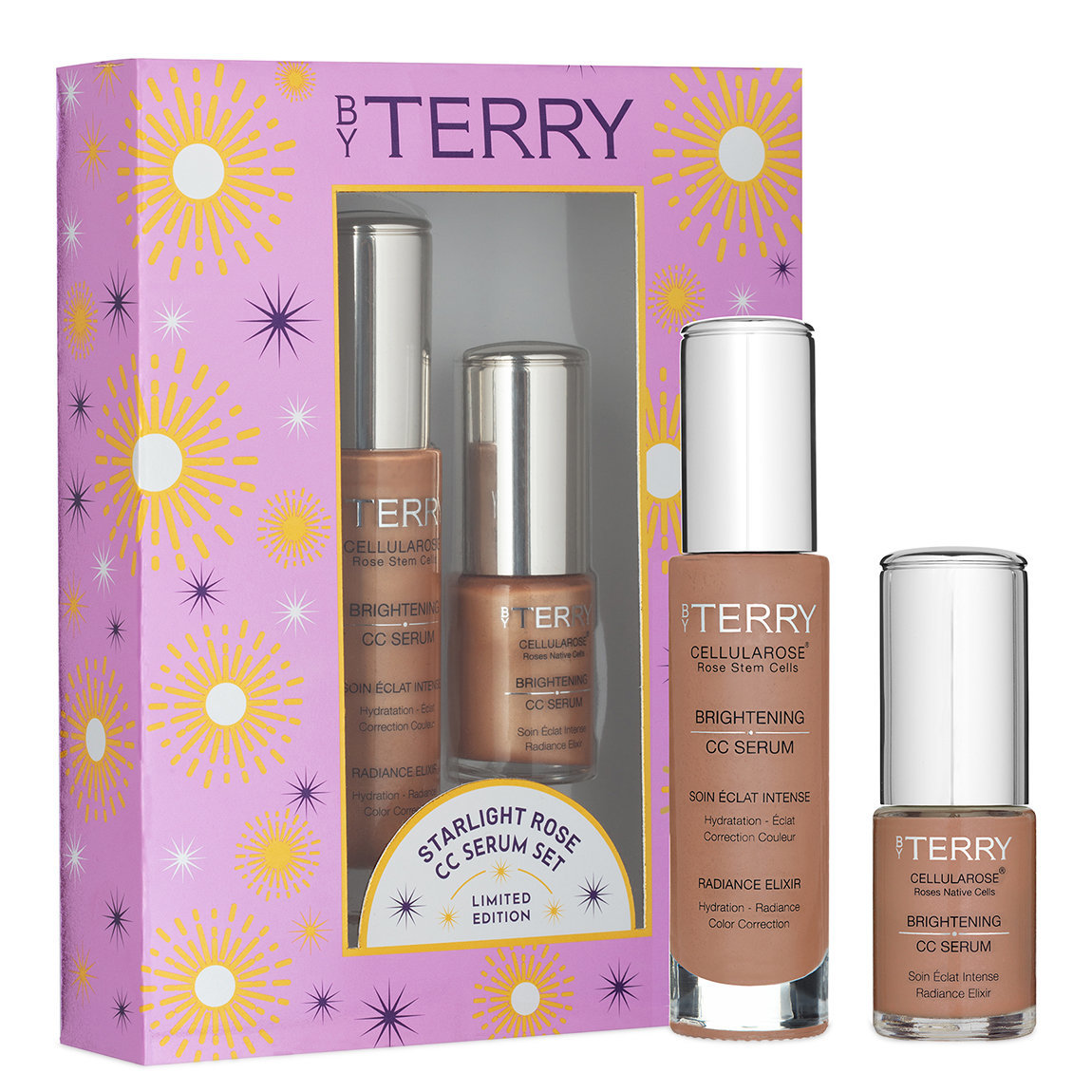 BY TERRY Starlight Rose CC Serum Set No. 4 product swatch.