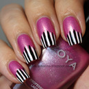 Striped tips