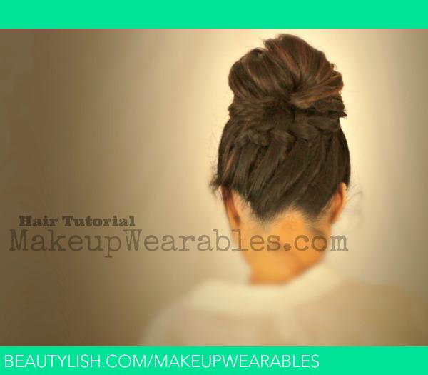 Prime Tutorial Cute Back To School Hairstyles Braided Messy Bun Short Hairstyles Gunalazisus