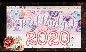 April Budget 2020 | Budget with Me! | Erin Condren Deluxe Planner | Debt Avalanche | Weekly Checkin