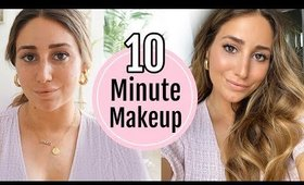 10 MINUTE MAKEUP TRANSFORMATION...seriously 10 minutes!