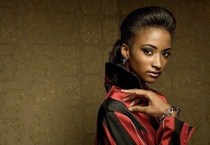 I love the look here....brooding, sexy.  I love working on african american skin