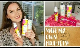 Making My Own Skincare & Hair Products ! ! ! -  A Mixeasy Review!