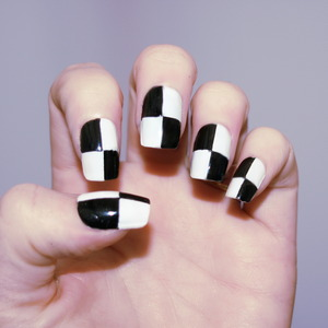 Monochrome :)  These are going to be in my next tutorial so if you like them, keep and eye out for that! <3