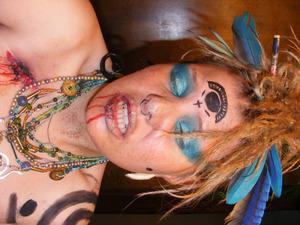 mayan inspired makeup