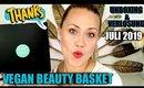 Vegan Beauty Basket Juli 2019 | Unboxing & Verlosung Naturkosmetik Box mit super Produkten!