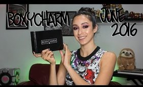 June Boxycharm Unboxing || June 2016