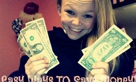 Easy ways to save $$$!