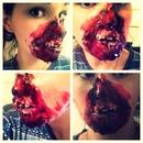 SFX face mutilation