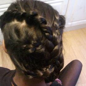 pretty hair braid style for all ages x