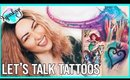 TATTOO TALK: My Watercolor & Disney Tattoos + 6 I'm DYING to Get Done |  All About My Tattoos