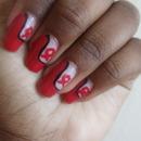 World Aids Day Nail Art